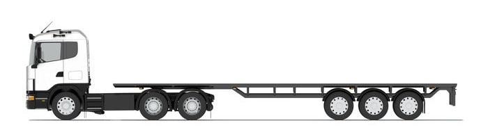 platvormhaagised, platform trailers